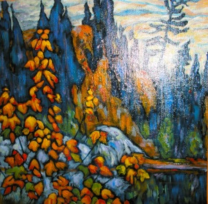 My copy of Lawren Harris' Autumn, Algoma