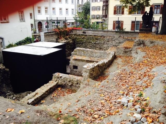 Roman ruins dig at Konstanz playground