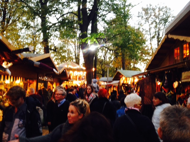 Ohhh... Food stalls at Herbstmesse